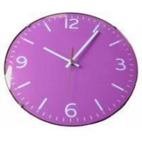 12 Inch Glass Wall Clock With 3D Face Manufactures