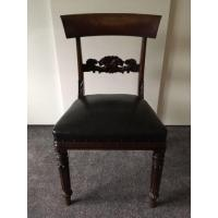 Buy cheap One Regency William IV Mahogany Hall Bedroom Dining Side Chair Antique Carved from wholesalers