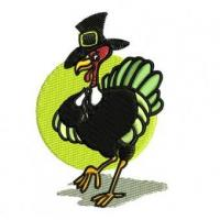 Tom Turkey Embroidery Design Manufactures