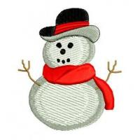 Christmas Winter Snowman Snow Embroidery Design Manufactures