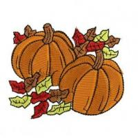 Fall Pumpkins Embroidery Design Manufactures
