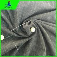 poly cotton spandex fabric with bamboo shape Manufactures