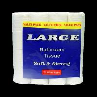Buy cheap Toilet Rolls 32 Pk Large White from wholesalers