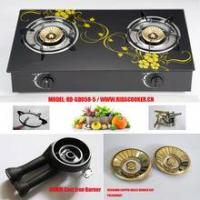 China RD-GD058-5 2 burner glass top gas stove gas cooker Gas Burner cooktop on sale