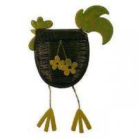 Buy cheap Cards & Gifts Hanging Chicken Basket from wholesalers
