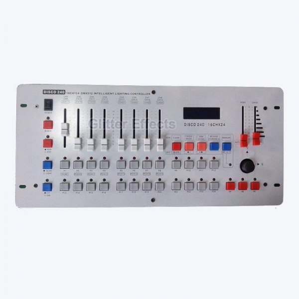 240 Dmx Controller For Sale Of Glitter Effects