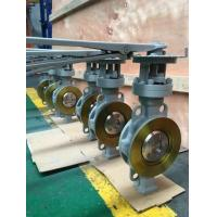Small Dimension Triple Eccentric Wafer Butterfly Valve Manufactures