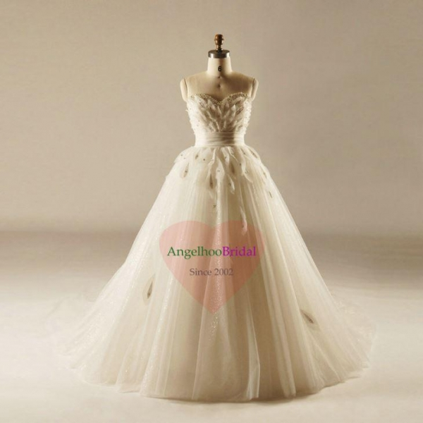 Cheap A Line Plus Size Empire Wedding Dresses For
