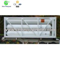CNG 3 Cylinders Tube Bundle Container Semi Trailer Manufactures