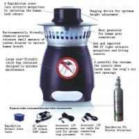 China Mosquitoes MT100 Mosquito Trap on sale