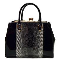 Snake Fashion Bag Black Model: RO10019(BK) Manufactures