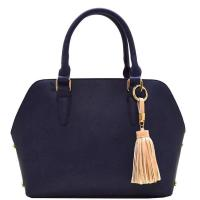 Tassel Simple Fashion Bag Navy Model: 81322(NV) Manufactures