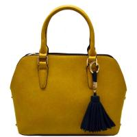 Tassel Simple Fashion Bag Mustard Model: 81322(MD) Manufactures