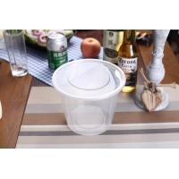 Buy cheap 1000ml Plastic Round Food Container With Large Capacity from wholesalers