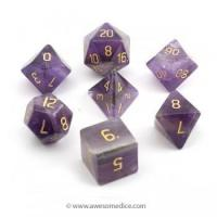 Amethyst Stone Dice Set Manufactures