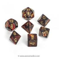 Buy cheap Scarab Blue Blood 7-Dice Set from wholesalers