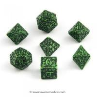 Buy cheap Dice Sets Green Forest 7-Dice Set from wholesalers