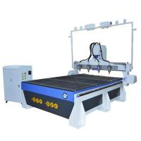 Aluminum T-slot CNC Table Classical Furniture Wood Carving Multi Head 3D CNC Router Manufactures
