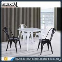 China Metal dining table/restaurant table/bar table TMT-003 on sale