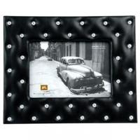 China Photo frame Studs fake leather black large (PT100850)Present TimeHK$180more info on sale