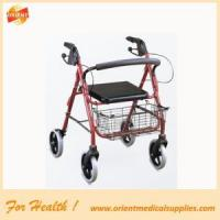 Aluminum Mobility Walker Foldable Rollator Manufactures