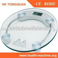 Tempered glass digital electronic LCD weighing bathroom scale Manufactures
