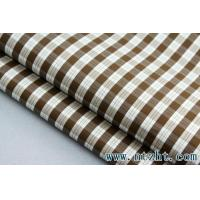 Buy cheap twill small check poplin yarn dyed fabric 009 from wholesalers