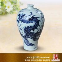 China Chinese dragon vase on sale