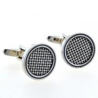 China Fiber cuff links HL0770311 on sale