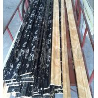 marble imitation smooth surface Polyurethane Chair Rail Moulding Manufactures