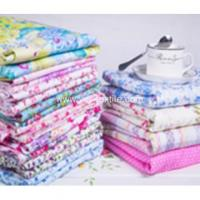 100% Cotton beautiful printing fabric for bedding set fabric Manufactures