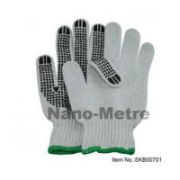 China Dotted Work Cotton Glove-SKN00701 on sale