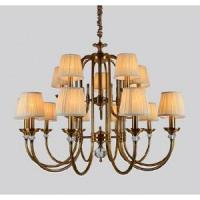China Modern crystal chandelier Two layers American Style Chandelier on sale