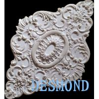 decor Class Oval/irregular shape Polyurethane Ceiling Medallions PU ceiling rose rosette Manufactures