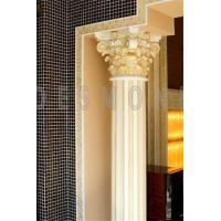 Custom Height Decorative Polyurethane Roman Columns Greek Pillars Manufactures
