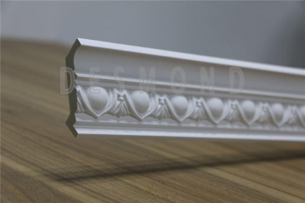 Quality Polyurethane Materials Carving Cornice Mouldings Crown Moulding for ceiling and wall for sale