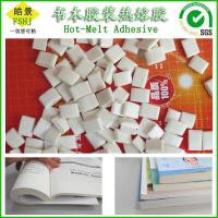 China Fast Bonding Bookbinding Hot Melt Adhesive , White Hot Glue Pellets For School Books Binding on sale