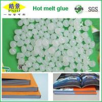 China Hot Melt Adhesive For Bookbinding , White Perfect Binding Glue To Bind Books on sale