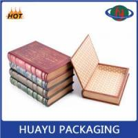 Cardboard Decorative Fake Book Shaped Boxes Wholesale Manufactures