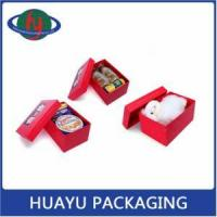 Buy cheap Custom Hand Made Rigid Empty Small Gift Box Packaging from wholesalers