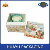 Buy cheap High Quality Custom Paper Candle Box Packaging from wholesalers