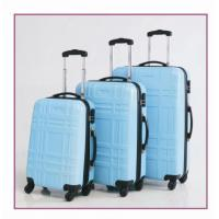 3 Piece Abs Luggage Set Manufactures