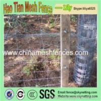 1.25m Hot dipped-Galvanized Wire Mesh Fence for Grassland/Farm Field Fence Manufactures