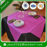 Non Woven Fabric Colored Table Cloth Manufactures