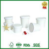 Buy cheap SGS,FDA Approval Disposable Hot Soup Paper Cup with Lid Take Out from wholesalers