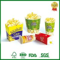 Buy cheap Paper Carton Tubs for Cinema Party Popcorn Packing to Go from wholesalers