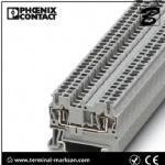 2.5(4) mm2,28A,ST 2.5 3L spring cage connection three level terminal block for Phoenix Manufactures