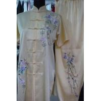 China Martial Arts Uniforms beautiful suit for kungfu with flowers 2012724172829 on sale