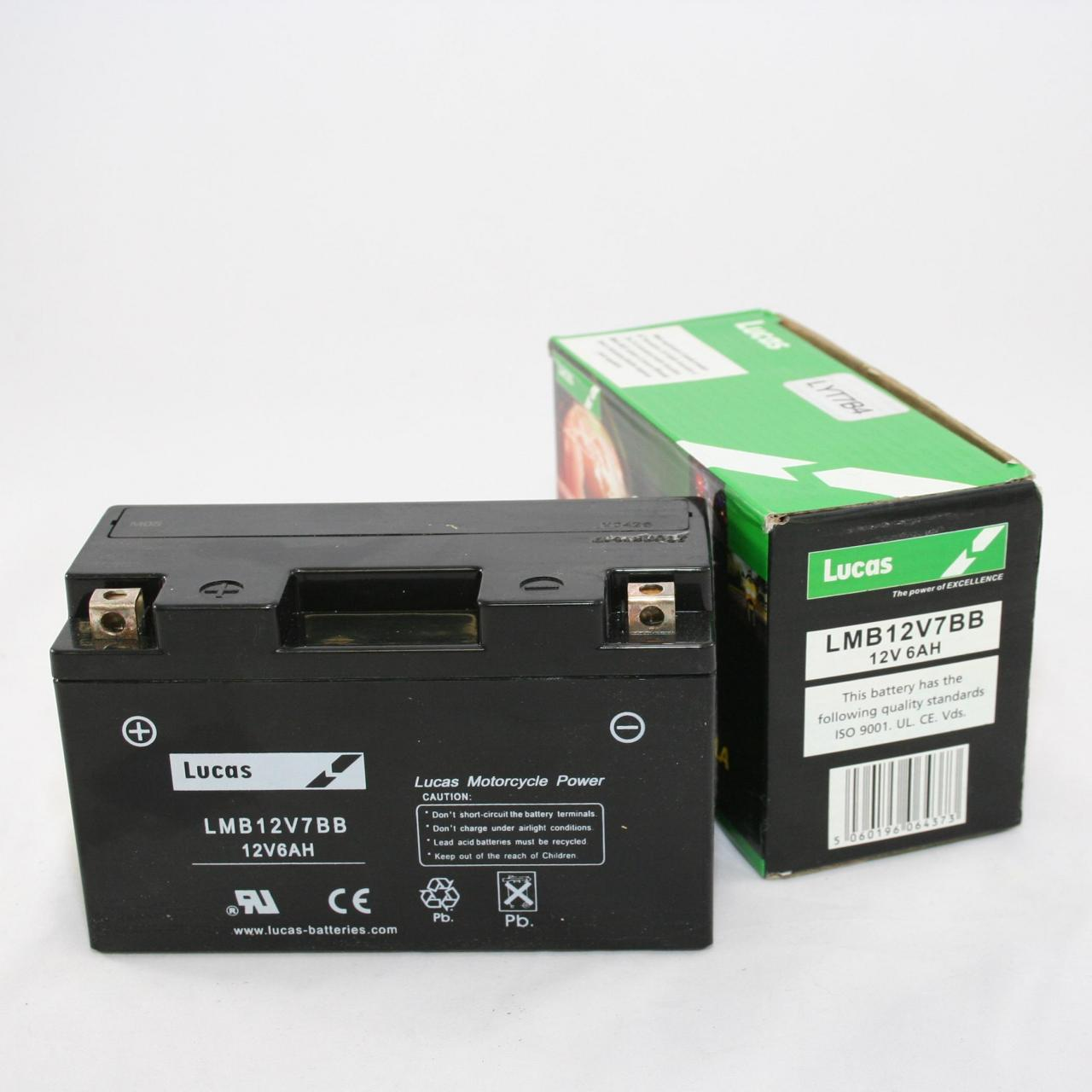 Lucas YXT20LBS AGM Liquifix Motorcycle Battery Manufactures