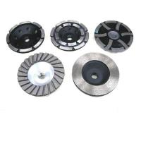 China Turbo Double Row Diamond Cup Grinding Wheels on sale